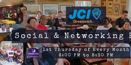 Social & Networking Event (Members & Friends meet-up) - Monthly tickets