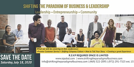 Shifting the Paradigm of Business & Leadership 2020 tickets