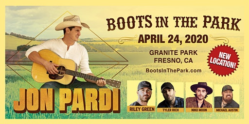 BOOTS IN THE PARK - Fresno  w/ Jon Pardi, Riley Green, Tyler Rich & more.