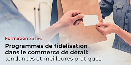 Programmes de fidélisation dans le commerce de détail billets