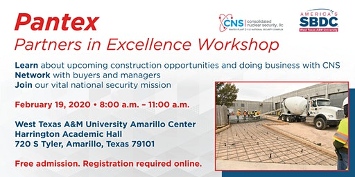 Pantex Partners in Excellence Workshop