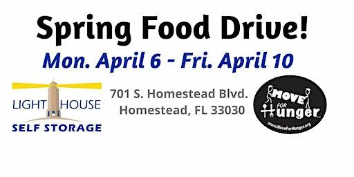 Spring Food Drive!