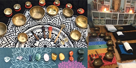 Sonic Crystal Reiki Sound Bath and Vibrational Therapy with Tibetan Bowls tickets