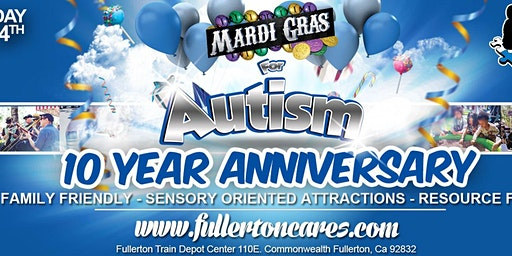 Save the Date: Tenth Annual Mardi Gras for Autism