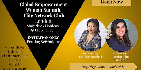 Elite Network London Club & Magazine & Podcast Launch tickets