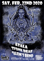 Stone Deaf, Salem's Bend and Atala at Gadi's
