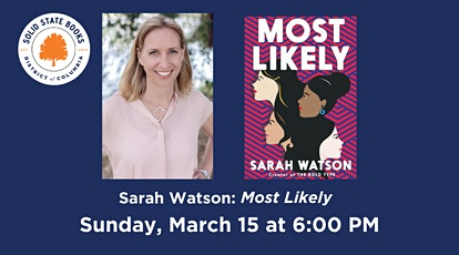 Sarah Watson: Most Likely tickets