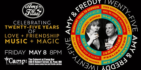 Amy & Freddy Celebrating 25 Years tickets