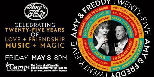 Amy & Freddy Celebrating 25 Years
