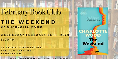 February Book Club - The Weekend by Charlotte Wood tickets
