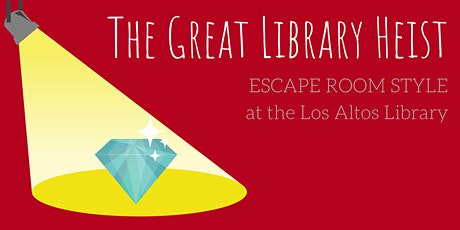 Library Heist Escape Room tickets