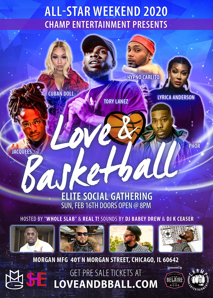 All-Star Weekend 2020 Elite Social Gathering: Love & Basketball image