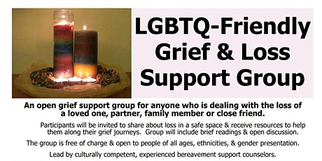 LGBTQ-friendly Grief Support Group tickets