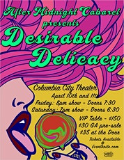 After Midnight Cabaret Presents - Desirable Delicacy tickets