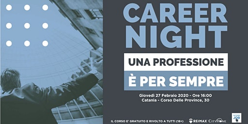 Career Night - Una Professione E' Per Sempre