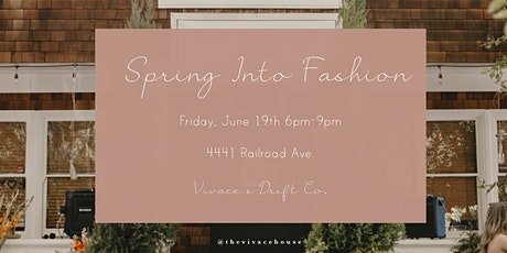 Spring Into Fashion tickets