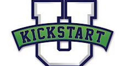 KICKSTART U Class of '21 - College Application Workshop - Back-to-School Session: July 27 - 30: 9 am - 1 pm tickets