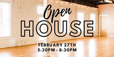 Events & Wedding Open House tickets