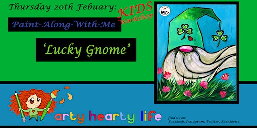 'Lucky Gnome' - Children's Painting Workshop @ YourSpace.Sutton