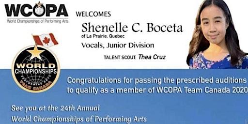Shenelle's Wcopa Fundraising Dinner