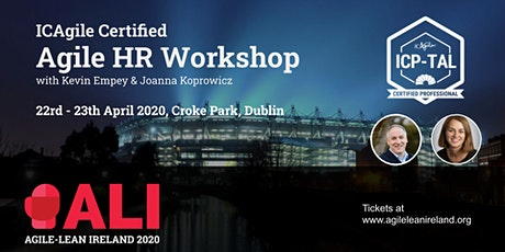 AgileHR Certified Workshop (ICAgile) with Kevin Empey & Joanna Koprowicz tickets