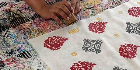 Block Printing Workshop with Amu Cherian tickets