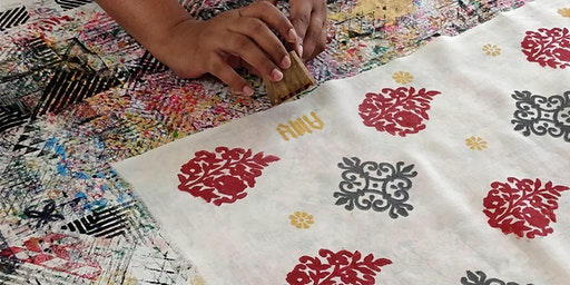 Block Printing Workshop with Amu Cherian