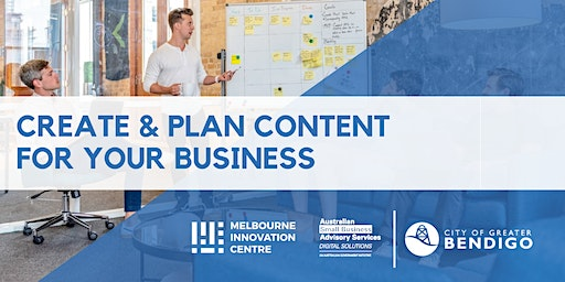 Content Creation: How to Create and Plan Content for your Business - Greater Bendigo