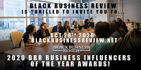 BBR 2020 Business Influencers Awards tickets