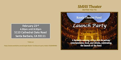 Royals Theatre Fund Launch Party
