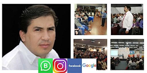 CONFERENCIA GRATIS DE GOOGLE Y REDES SOCIALES PARA EMPRESAS EN CDMX EXPO