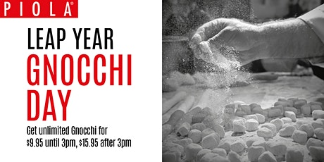 Leap Year Gnocchi Day tickets