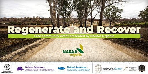 Regenerate and Recover- FREE Community Event