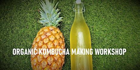 ORGANIC KOMBUCHA MAKING WORKSHOP tickets