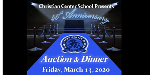 CCS 40th Anniversary Auction