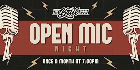 Adult Open Mic Night tickets