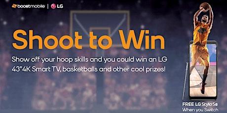 Boost Your Shot - Games and Prizes biglietti