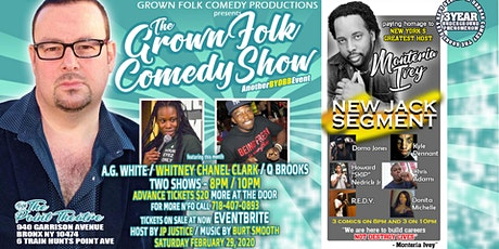 The Grown Folk Comedy Show (BYOBB) FEB / Donita tickets