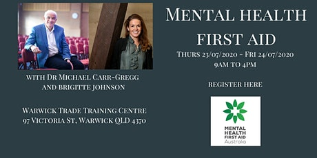 Mental Health First Aid Warwick tickets