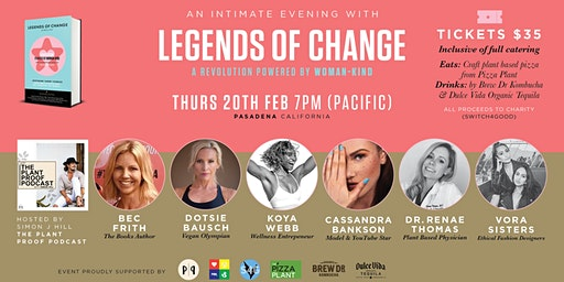 An Intimate Evening with Legends of Change