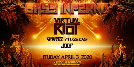 BASS INFERNO ft. Virtual Riot, Shiverz, Akeos + More tickets