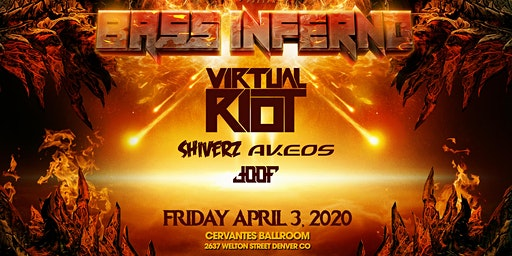 BASS INFERNO ft. Virtual Riot, Shiverz, Akeos + More