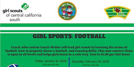Girl Sports: Football - Hanford
