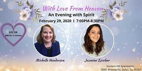 With Love From Heaven-An Evening with Spirit tickets