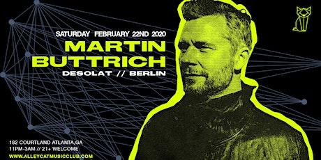 Martin Buttrich tickets