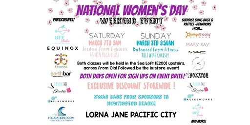 National Women's Day Saturday Yoga Event w/ Equinox