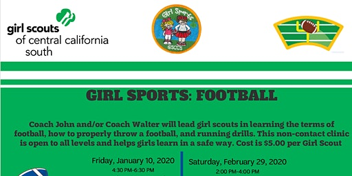 Girl Sports: Football - Fresno