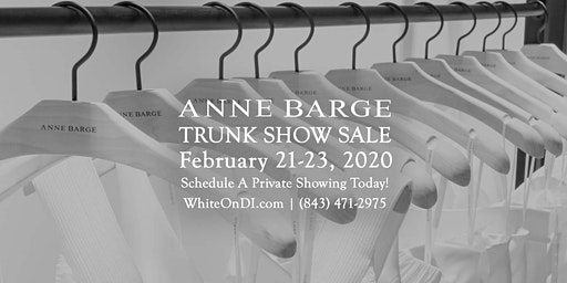 Anne Barge Bridal Trunk Show Sale