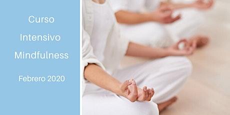 Curso Intensivo Mindfulness  Febrero entradas