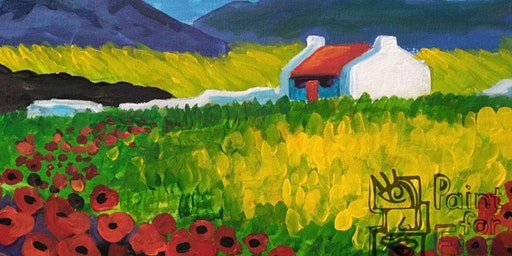 Poppies in the Hills (Dine in)